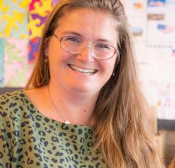 Natascha, leerkracht