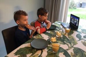 Voorleesontbijt Boaz en Stijn